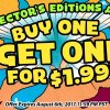 Weekend Sale: Collector's Editions — Buy One, Get One For $1.99