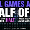 Coupon Codes: All Games Are Half Off