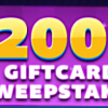 4.5X Sale and 2-Day Gift Card Sweepstakes