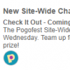 Coming 9/13: Pogofest Site-Wide Challenge