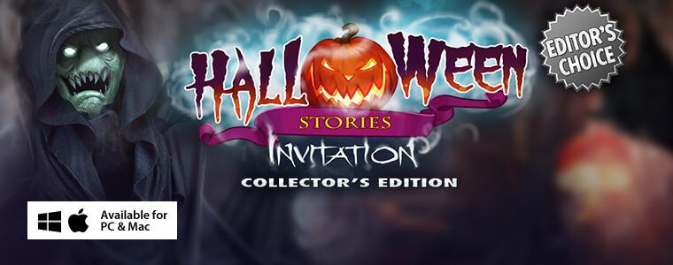 Halloween Stories: Invitation CE + Bundle Sale