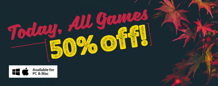 Weekend Sale: All Games Are 50% Off
