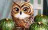 Claire Hart - Halloween Special: A Visit With Owls - The Halloween in Kyoto Badge