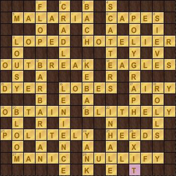 Crossword Cove Solution: November 4, 2017