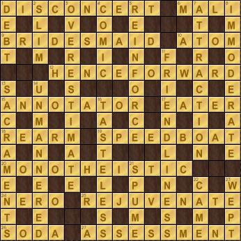 Crossword Cove Solution: December 24, 2017