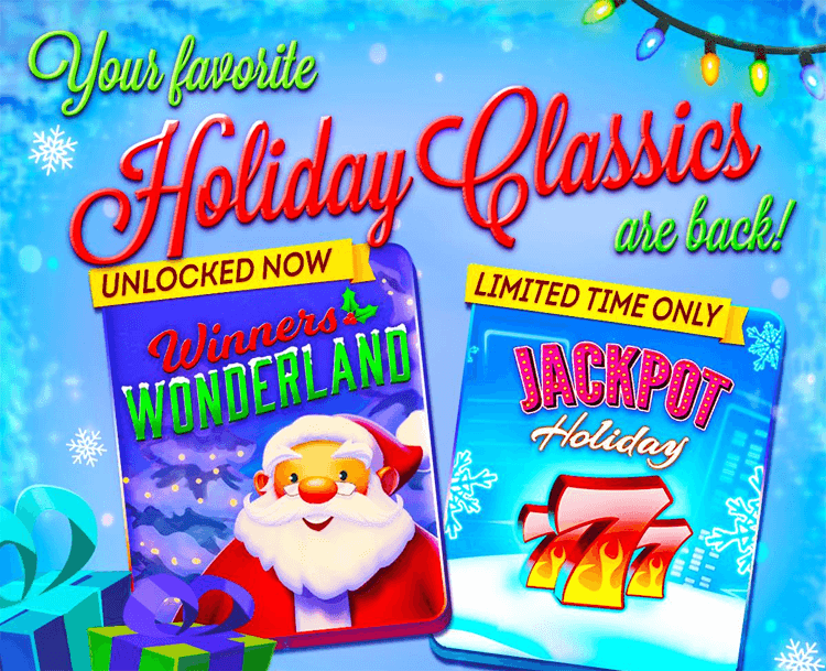 Holiday slots unlocked for a limited time only for Gold fish casino promo codes