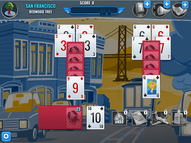 Jet Set Solitaire - screenshot