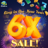 6X Chips & Gold New Year Sale — Today Only