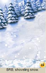 Pogo Mini: BRB, shoveling snow.