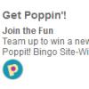 Poppit! Bingo Site-Wide Challenge Coming Soon