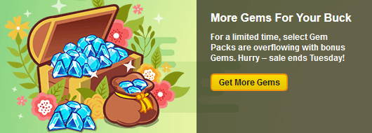Birthday Special: Gem Sale