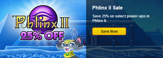 Phlinx ii power up sale for Big fish casino promo code free chips