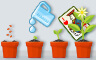Solitaire Gardens Rank 80 Badge