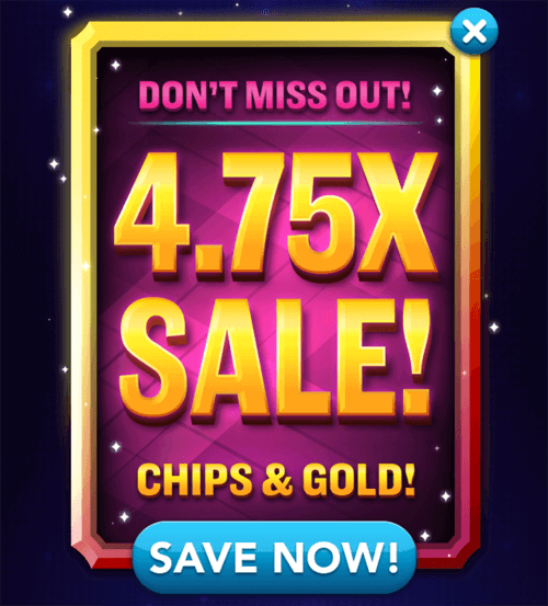 Chips gold sale for Big fish casino free chips promo code