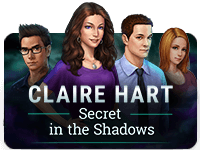 Claire Hart: Secret in the Shadows Episodes & Badges