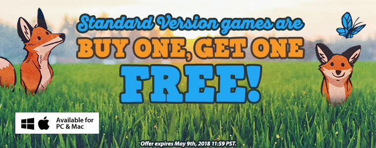 Coupon code buy one standard version game get one free for Gold fish casino promo codes