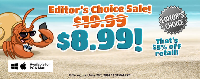Coupon Code: 55% Off Editor's Choice Games