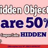 Coupon Code: Hidden Object Games Are 50% Off