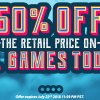 Weekend Sale: 60% Off All Games