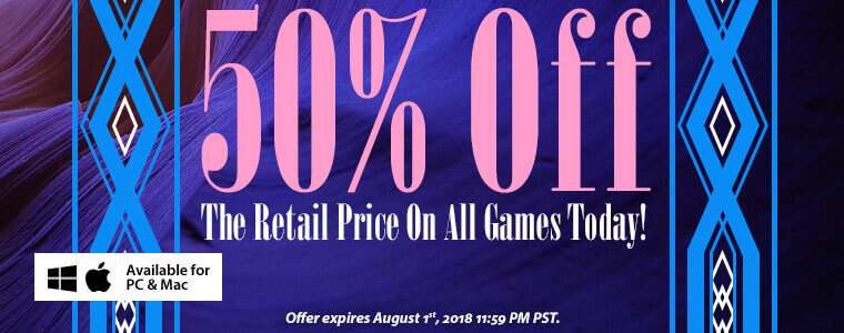 Coupon Codes: 50% Off All Games