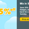 Pogo's Summer Badge Sale is On
