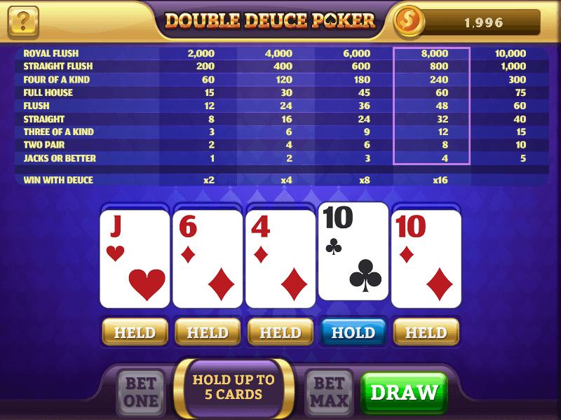 Double Deuce Poker HD Screenshot