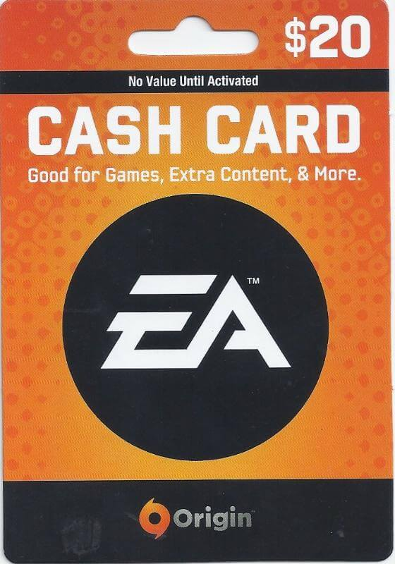 EA Cash Card