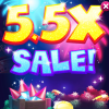 Big Fish Casino 5.5X Sale