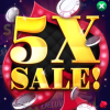 Big Fish Casino: 5X Sale