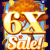 Fish Casino 6X Chips & Gold Sale