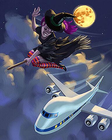 Bewitching Flight Badge