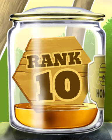 Tumble Bees HD Rank Badge