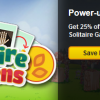 Save 25% on Solitaire Gardens Power-Ups and Seeds