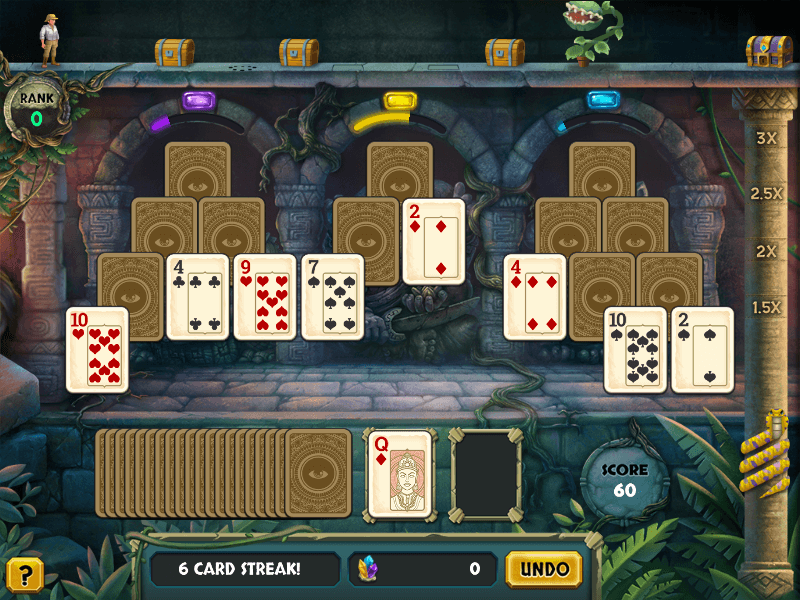 Now Available: Tri-Peaks Solitaire HD Screenshot