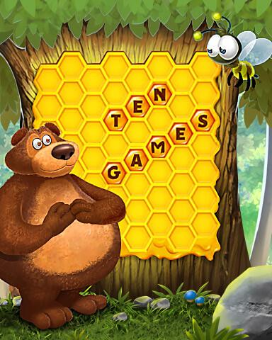 Tumble Bees HD Mix-n-Match Badge