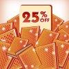 Save 25% on Premium Badge Albums