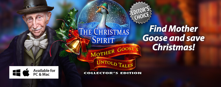 The Christmas Spirit: Mother Goose's Untold Tales CE + Bundle Sale