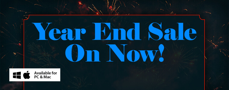 Year End Sale: 50% Off All Games