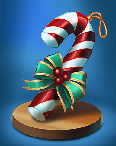 Grub Crawl Holiday Ornament Badge