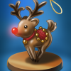Word Whomp HD Holiday Ornament Badge