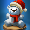 Poppit! Bingo Holiday Ornament Badge