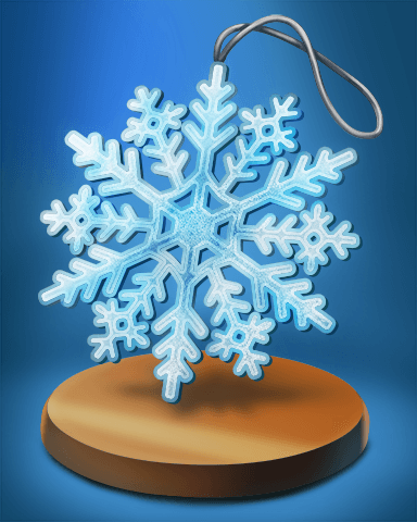 Poppit! HD Holiday Ornament Badge