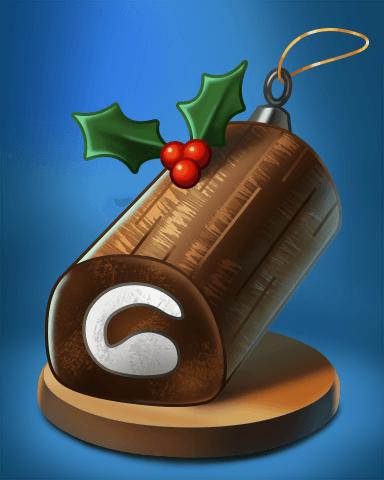 Stack'em HD Holiday Ornament Badge