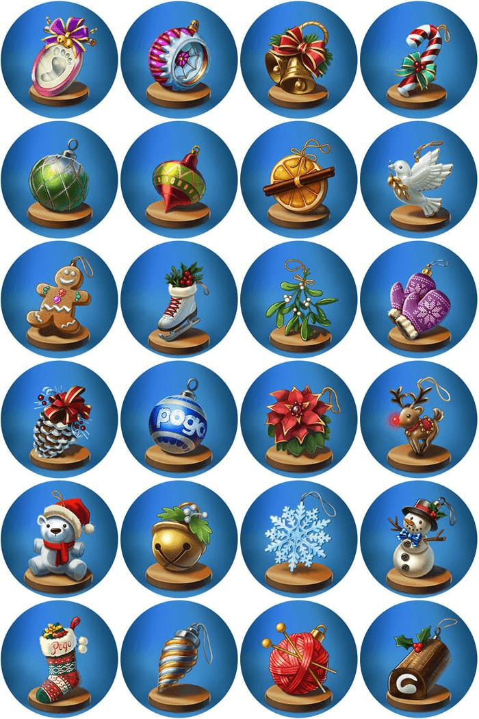 Holiday Ornament Badges - Sneak Peek