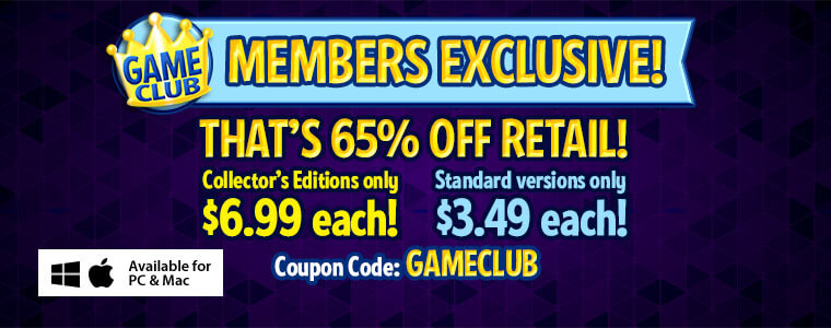 Game Club Sale: 50% Off All Games