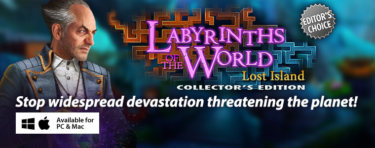 Labyrinths of the World: Lost Island CE + Bundle Sale