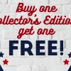 Stars & Stripes Sale: Buy One Collector's Edition, Get One Free