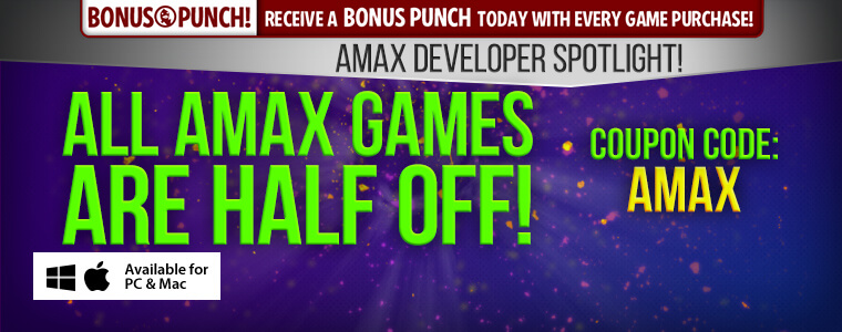 Developer Spotlight: AMAX Interactive + Coupon Code