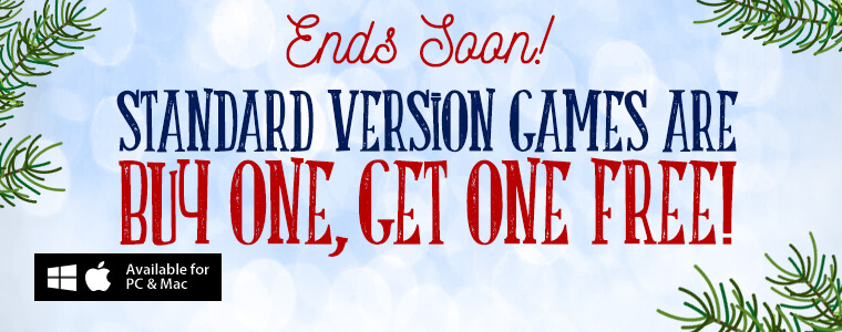 Coupon Code: Buy One Standard Version Game, Get One Free