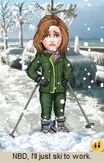 Pogo Mini: NBD, I'll just ski to work.